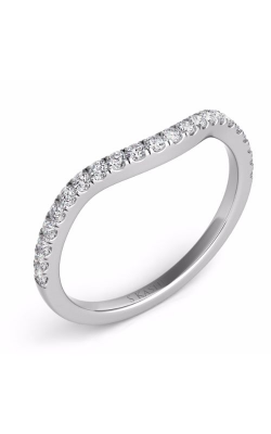 S Kashi & Sons Curved Wedding Band EN7303-BWG product image