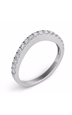 S Kashi & Sons Curved Wedding Band EN7154-BWG product image