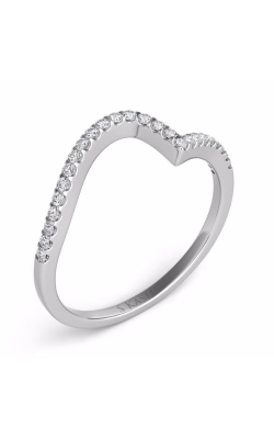 S Kashi & Sons Curved Wedding Band EN7274-BWG product image