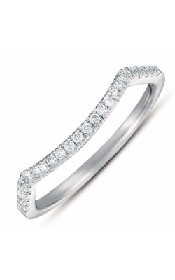 S. Kashi and Sons Curved Wedding Band EN7373-BWG product image