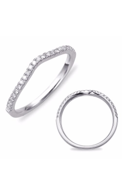 S. Kashi and Sons Curved Wedding Band EN7411-BWG product image