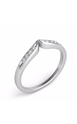 S. Kashi and Sons Curved Wedding Band EN 134-BWG product image
