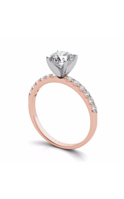 Deutsch & Deutsch Bridal Side Stone Engagement ring EN6593RG product image