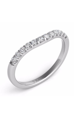 Deutsch & Deutsch Bridal Curved Wedding Band EN6695-BWG product image