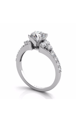 Deutsch & Deutsch Bridal Side Stone Engagement Ring EN7154WG product image