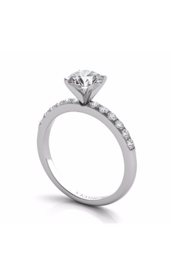 S Kashi & Sons Side Stone Engagement Ring EN7195WG product image