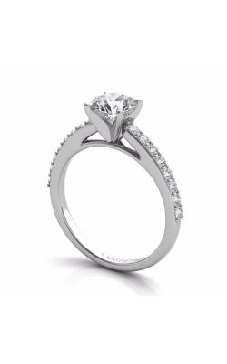 S Kashi & Sons Side Stone Engagement Ring EN7344WG product image