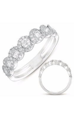 Deutsch & Deutsch Bridal Stackables Wedding Band D4264WG product image
