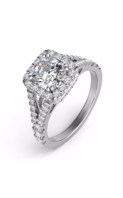 S. Kashi and Sons Split Shank Engagement Ring EN7303-CUWG product image