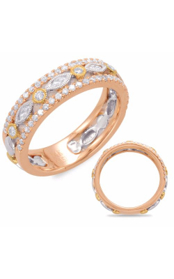 S. Kashi and Sons Stackables Wedding Band D4412RWY product image