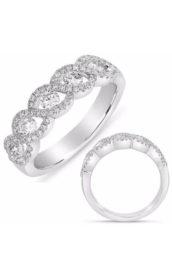 S. Kashi and Sons Stackables Wedding Band D4331WG product image