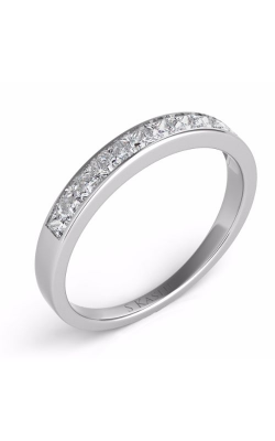 S. Kashi and Sons Princess Cut Wedding Band EN1961-BWG product image