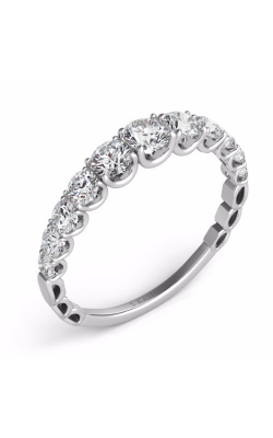 S Kashi & Sons Prong Set Wedding band EN7583-BWG product image