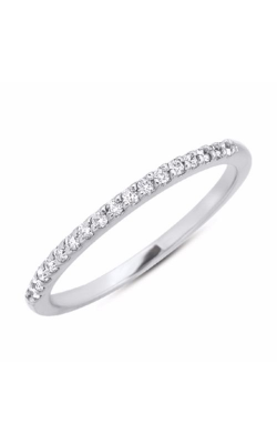 S. Kashi and Sons Prong Set Wedding Band EN7124-BWG product image