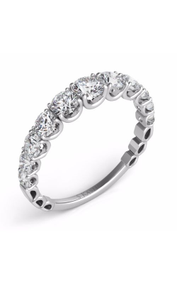 S Kashi & Sons Prong Set Wedding band EN7463-BWG product image