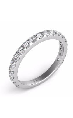 S Kashi & Sons Prong Set Wedding band EN7006-BWG product image