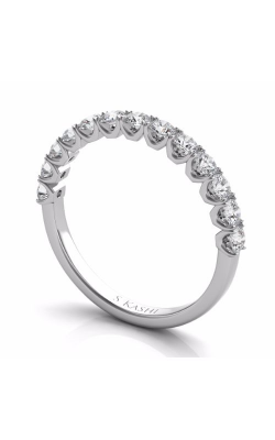S. Kashi and Sons Prong Set Wedding Band EN7637-BWG product image