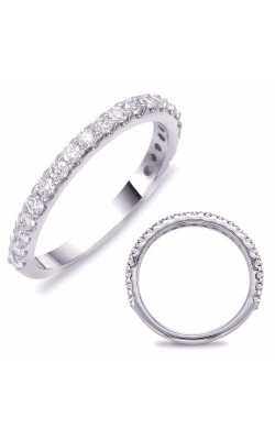 S. Kashi and Sons Prong Set Wedding Band EN7581-BWG product image