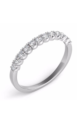 S Kashi & Sons Prong Set Wedding band EN7168-BWG product image