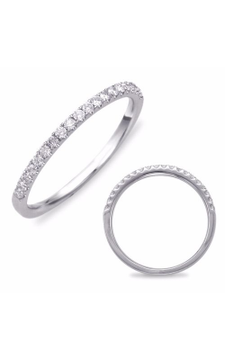 S. Kashi and Sons Prong Set Wedding Band EN7569-BWG product image
