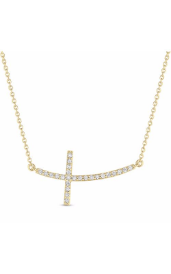 S Kashi & Sons Crosses Necklace N1193YG product image