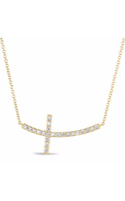 S Kashi & Sons Crosses Necklace N1194YG product image