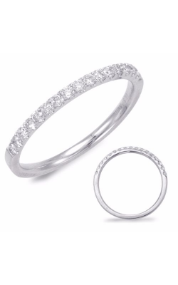 Deutsch & Deutsch Bridal Prong Set Wedding band EN7694-BWG product image