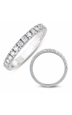 Deutsch & Deutsch Bridal Prong Set Wedding Band EN7443-BWG product image