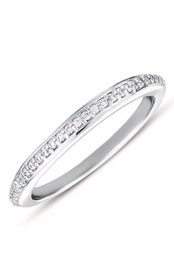S. Kashi and Sons Prong Set Wedding Band EN7347-BWG product image