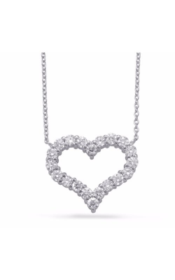 S Kashi & Sons Hearts Necklace N1198WG product image
