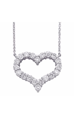 S Kashi & Sons Hearts Necklace N1199WG product image