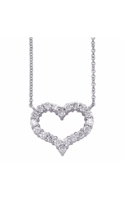 S Kashi & Sons Hearts Necklace N1204WG product image