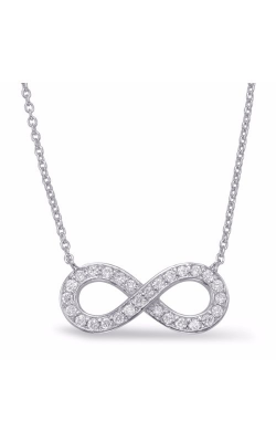 S. Kashi and Sons Infinity Necklace N1201WG product image