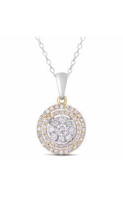 S Kashi & Sons Circles Necklace P3206YW product image