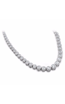 S. Kashi And Sons Tennis Necklace N1012-5WG product image