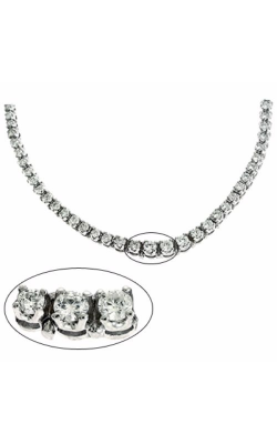 S Kashi & Sons Tennis Necklace N1148WG product image