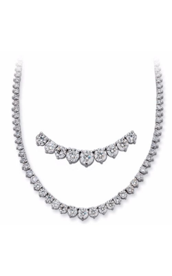 S. Kashi And Sons Tennis Necklace N1155WG product image