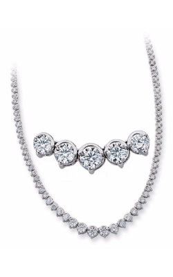S. Kashi And Sons Tennis Necklace N1157WG product image