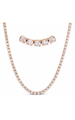 S. Kashi And Sons Tennis Necklace N1186RG-3.1MM product image