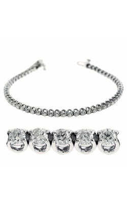 S. Kashi And Sons Diamond Bracelet B4044-4WG product image