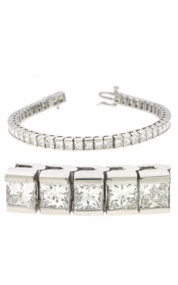 S. Kashi And Sons Diamond Bracelet B 143-4.5PL product image