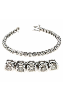 S. Kashi And Sons Diamond Bracelet B4002-4WG product image