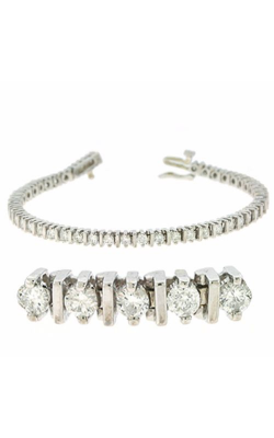 S. Kashi And Sons Diamond Bracelet B4009-3WG product image