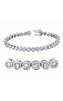 S. Kashi And Sons Diamond Bracelet B4011-2WG product image
