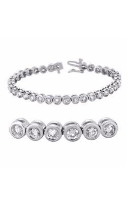 S Kashi & Sons Diamond Bracelet B4011-5WG product image