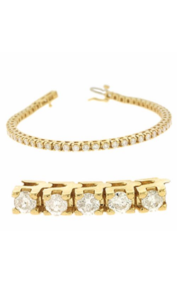 S Kashi & Sons Diamond Bracelet B4012-7 product image