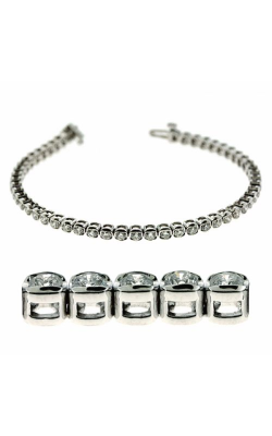 S Kashi & Sons Diamond Bracelet B4396-3WG product image