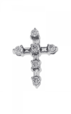 S Kashi & Sons Cross Necklace P2952WG product image