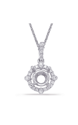 OPJ Signature Halo Necklace P3198-75WG product image