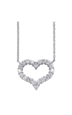 S Kashi & Sons Hearts Necklace N1197WG product image
